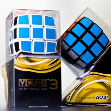 VCUBE  3x3x3  fekete szegéllyel