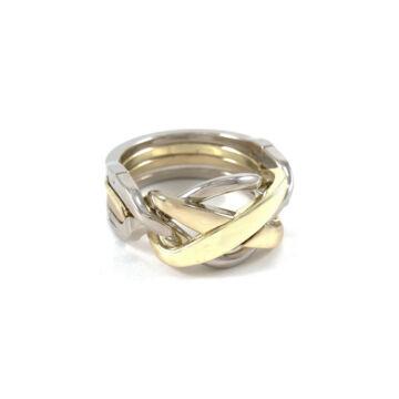 Gyűrű ördöglakat fémből elegáns csomagolásban