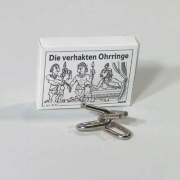 Kleopátra fülbevalója  ördöglakat gyufásdoboz játék