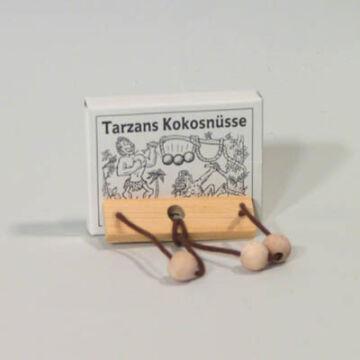 Tarzan kókuszdiói  gyufásdoboz játék fából