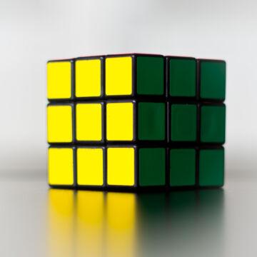 RUBIK Kocka - Klasszikus - 3 x 3 x 3