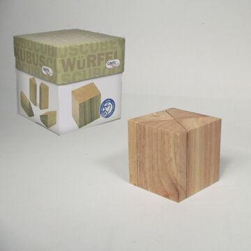 Kocka  puzzle fából