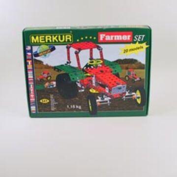 Merkur farmer - fémépítő szett