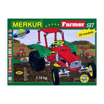 Merkur farmer  fémépítő szett