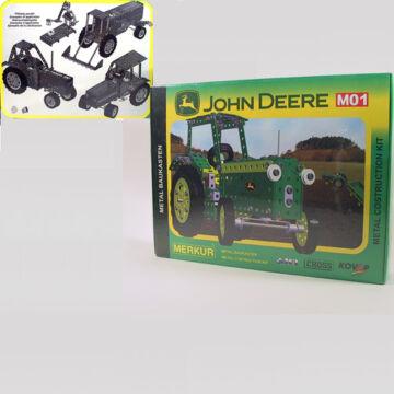 JOHN DEER traktor   MERKUR  fémépítő szett