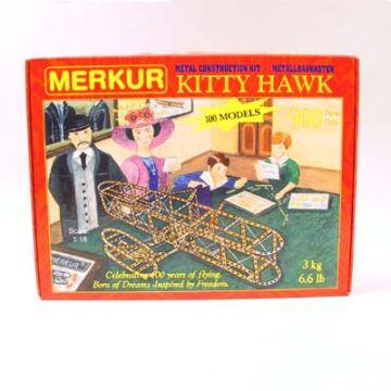 Kitty Hawk repülő  hasonmás fémépítő