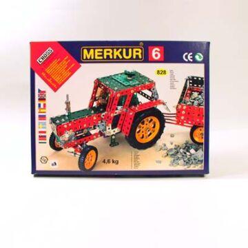 Konstrukciós fémépítő szett,  MERKLIN hasonmás M6