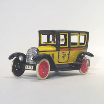Sárga Taxi  eredeti Paya lemezjáték 1930as modell