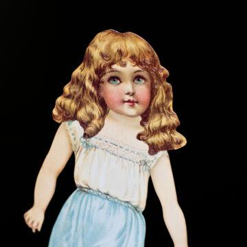 ALICE  öltöztetőbaba szett dekor.csomagolásban