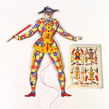 Fantocci  Hampelman figura készítő papírjáték szett