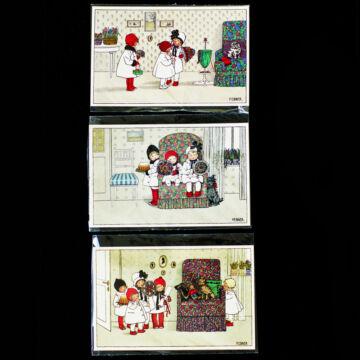 Old postcards several design