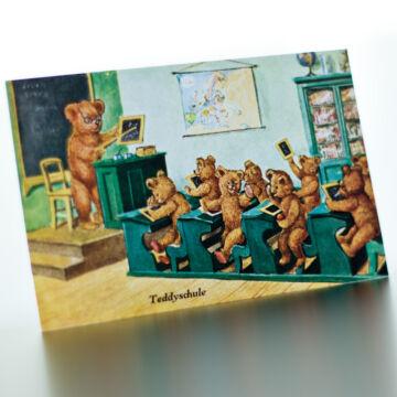 Bear Scool simple postcard set 5db