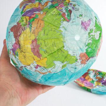 Glóbusz - rizspapír labda