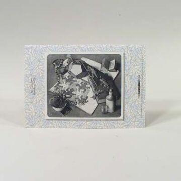 Escher  3 dimenziós  képeslap 55132