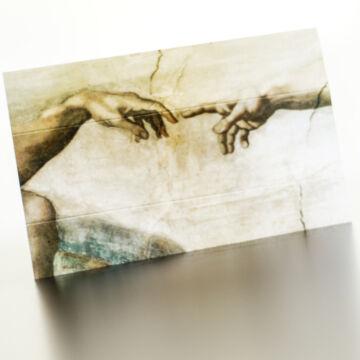Michelangelo: A teremtés - sztereóképeslap