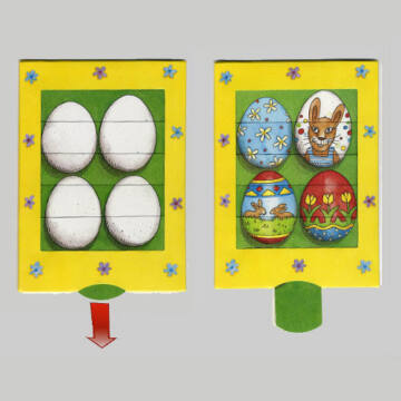 Fessünk tojásokat  változó képeslap