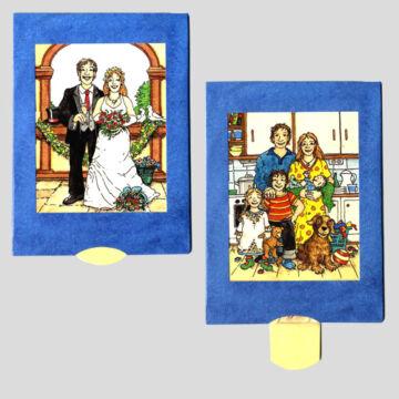 Wedding changing card