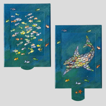 Telhetetlen hal változó képeslap