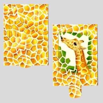 Zsiráf  Változó képeslap