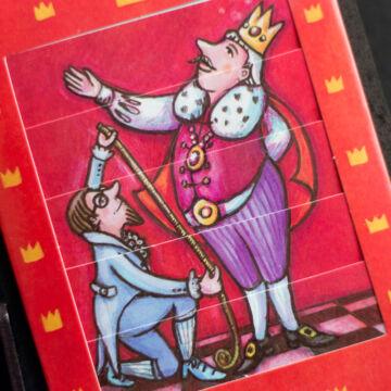 A császár új ruhája  változó képeslap