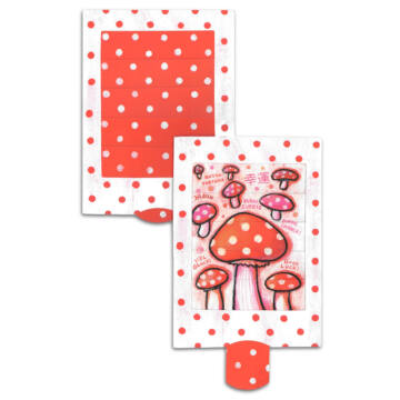Mushroom changing card