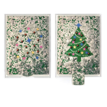 Christmastree changing card