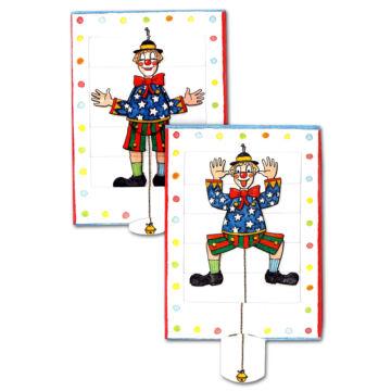 HAMPELMANN Clown changing card