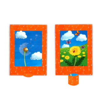Dandelion changing card