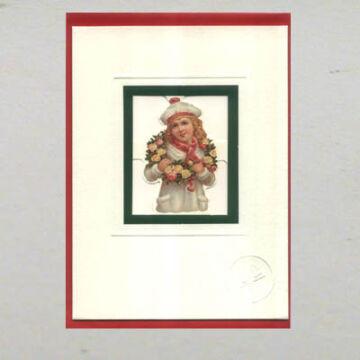 Levélpapír betétes üdvözlőlap -  borítékkal