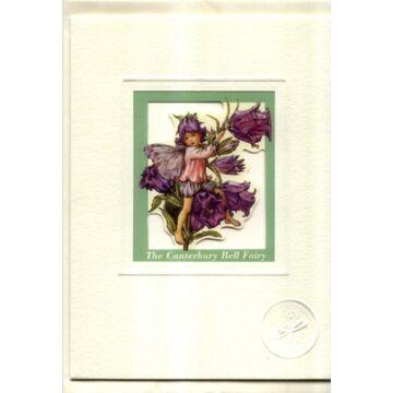 Harangvirág tündér  ablakos üdvözlőlap borítékkal