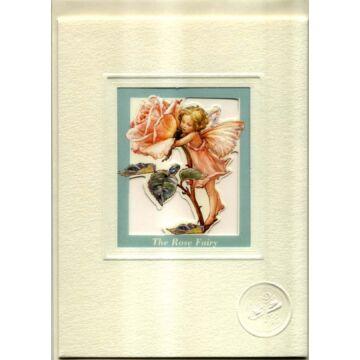Rózsatündér - ablakos képeslap borítékkal