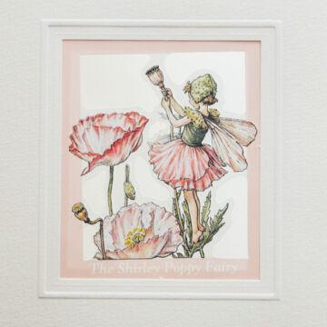 Üdvözlőlap halvány rózsaszín virágokkal