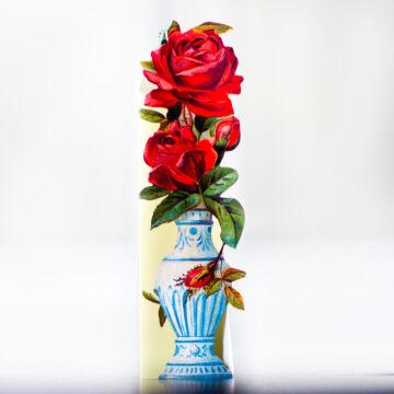 Idyllic potted flower bookmark