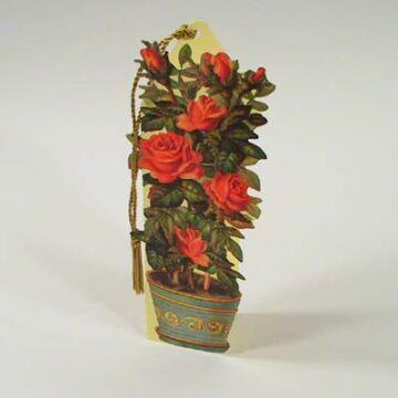 Rose tree bookmark