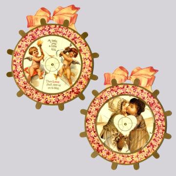 Cupido tüzes nyila    szerelmes képeslap