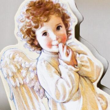 Térdeplő angyalka - mini notesz
