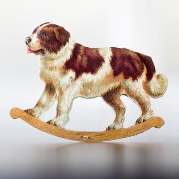 Bernáthegyi kutya hintázó képeslap borítékkal