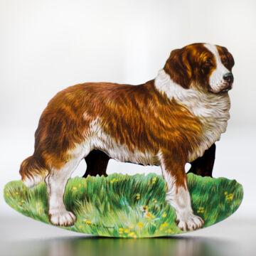 Bernáthegyi kutya  hintázó figura borítékkal