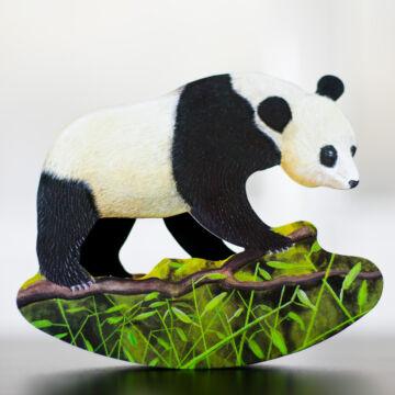 Swinging Panda card with envelope