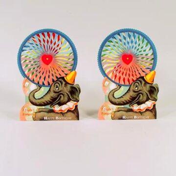 Boldog születésnapot!  elefántos változó képeslap
