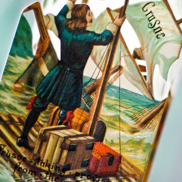 Robinson Crusoe - panoráma könyv angolul