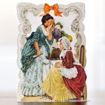 Karácsonyi kalács  térbeli képeslap