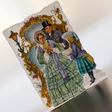 Karácsonyi ének  térbeli képeslap