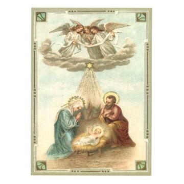 Szent család képeslap