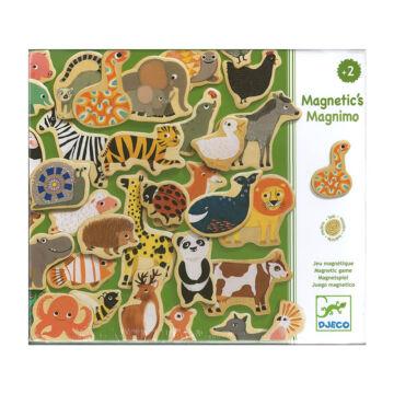 Állatok mágneses kirakó
