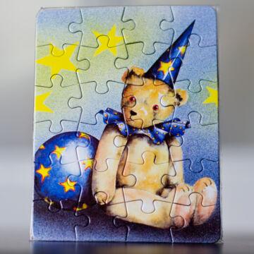 Maci a varázsló mini puzzle