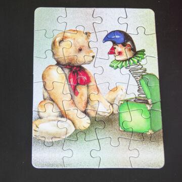 Maci Bohóccal mini puzzle