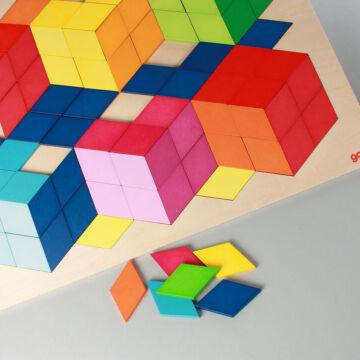 Geometrikus puzzle felnőtteknek