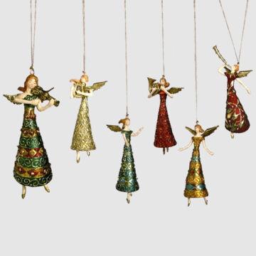 Angyalok hangszerekkel -  függeszthető dekor
