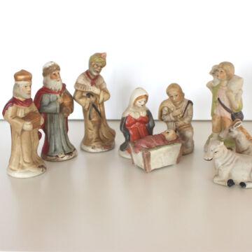 Porcelán BETLEHEM különálló figurákkal
